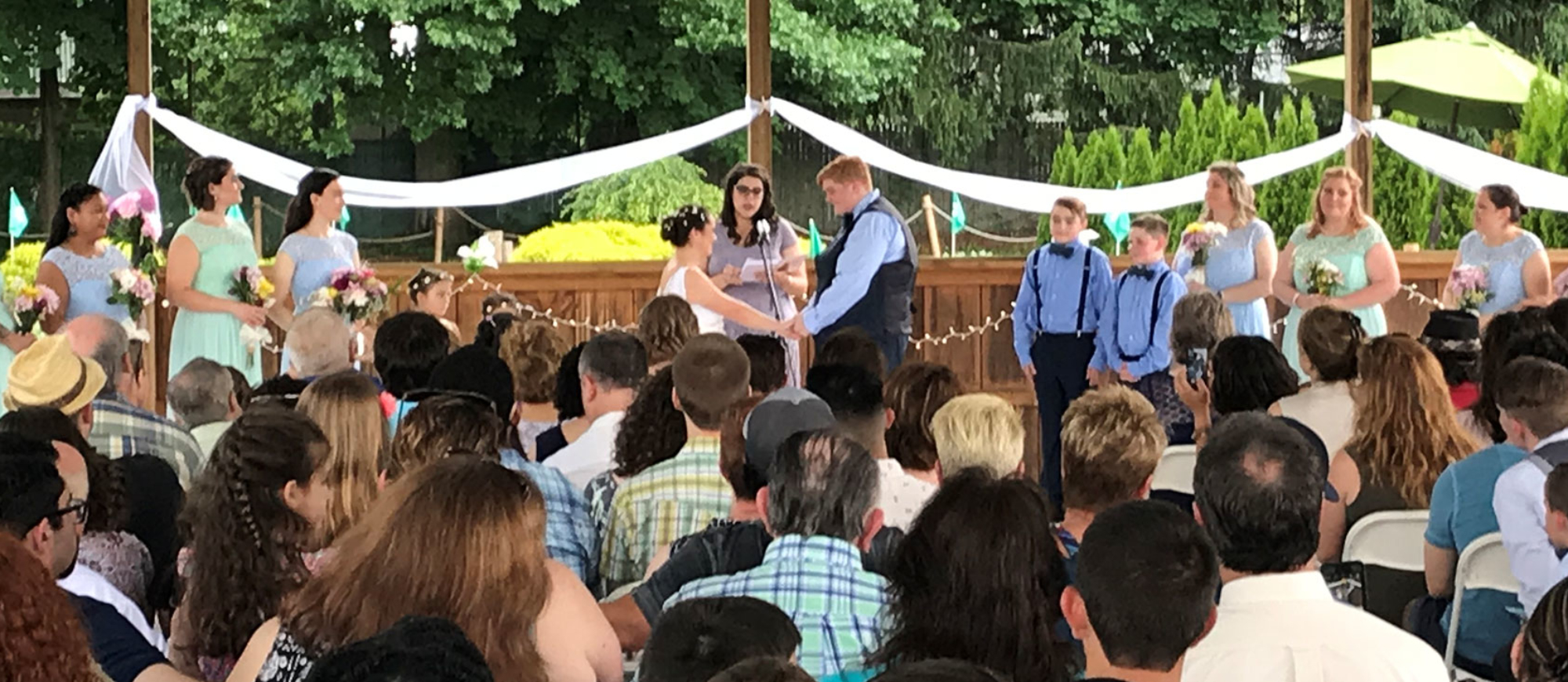 Weddings at Ivy League Day Camp